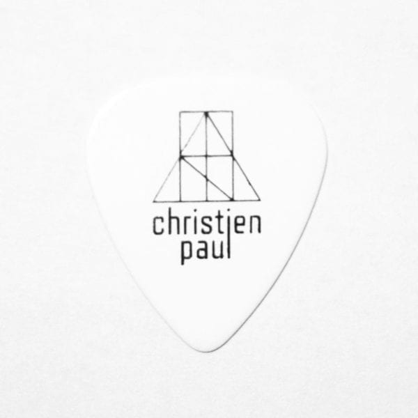 Christien Paul - Guitar Pick (light gauge)