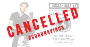 Release Party Cancelled